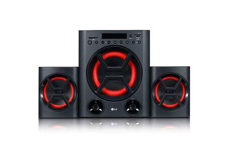 LG X Boom LK72B Boom Blastic Multimedia Speakers (Black)